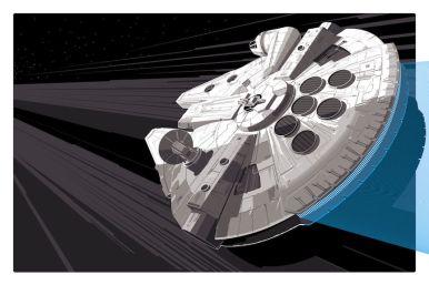 Craig Drake Millennium Falcon