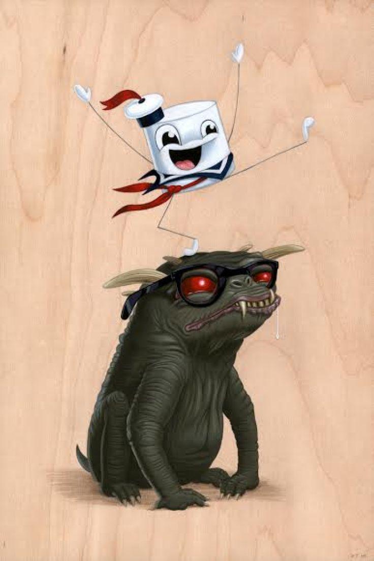 Cuddly Rigor Mortis - Ghostbusters