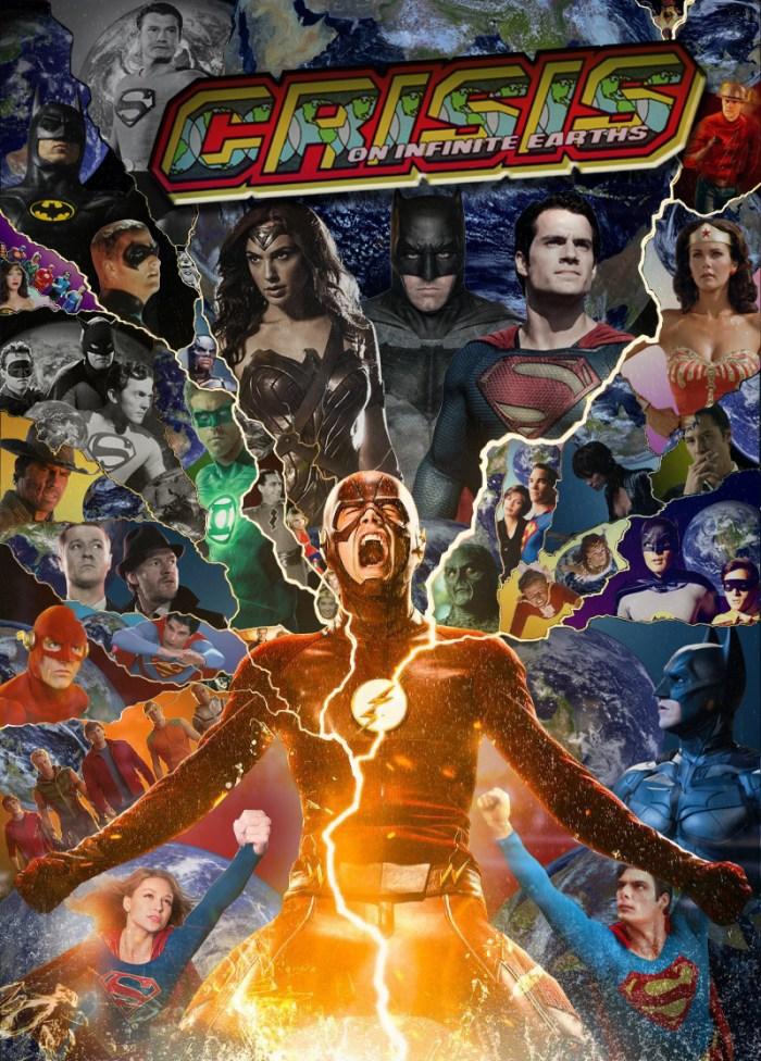 DC Crisis on Infinite Earths fan art