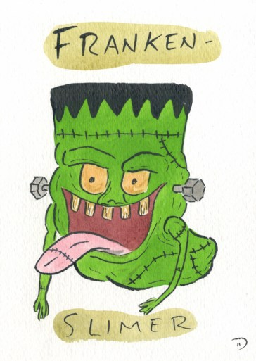Dan Goodsell - Ghostbusters frankenslimer