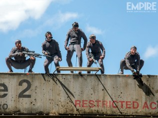Dawn of the Planet of the Apes BTS (2)