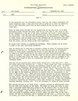 Walt Disney Letter 6