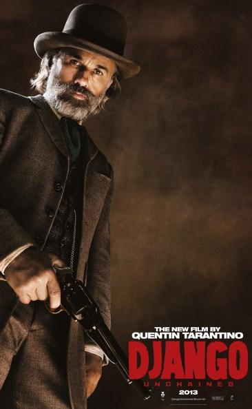 Django Unchained Poster Waltz