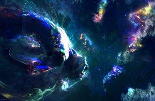Doctor Strange concept art - psychedelic