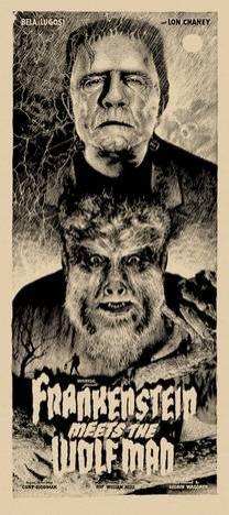 Elvisdead - Frankenstein Wolf Man