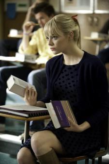 Emma Stone books Spider-Man