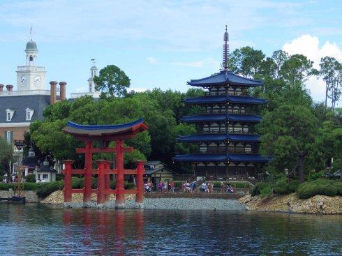 Epcot-Torii-Gate-Pagoda-3x4-by-Joshua-Meyer