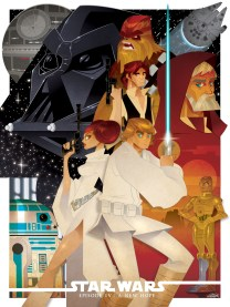 Star Wars Episode IV A New Hope by Chito Arellano