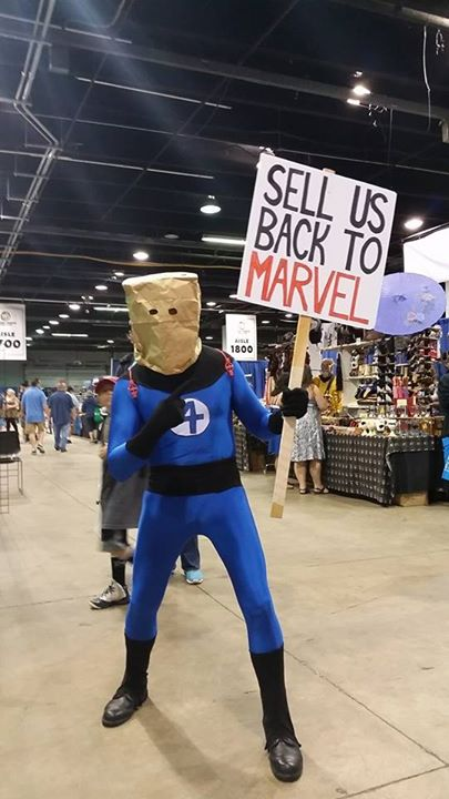 Fantastic Four cosplay