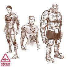 Fantastic Four costumes (1)