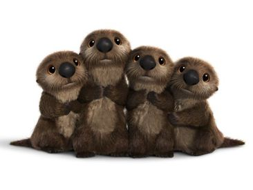 Finding Dory - otters