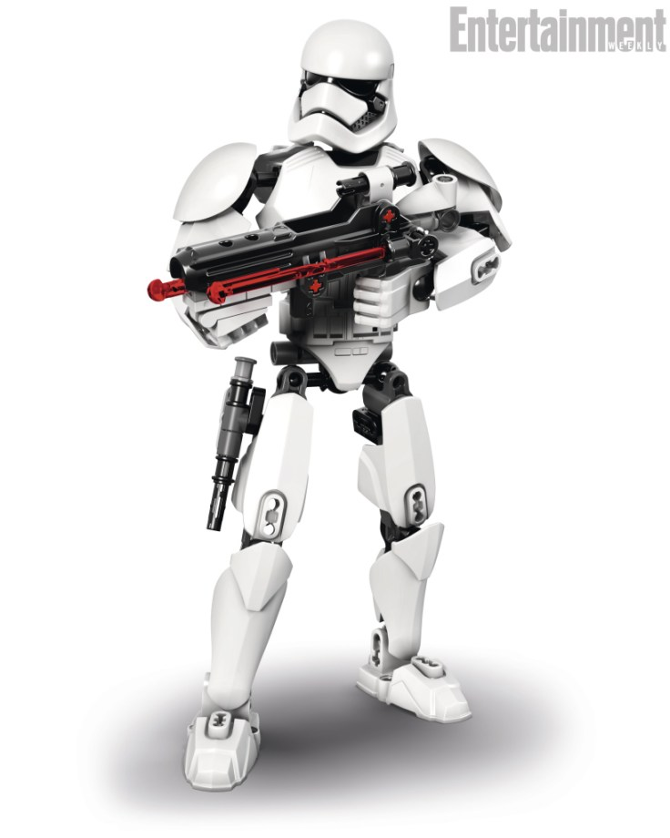 First Order Stormtrooper Lego