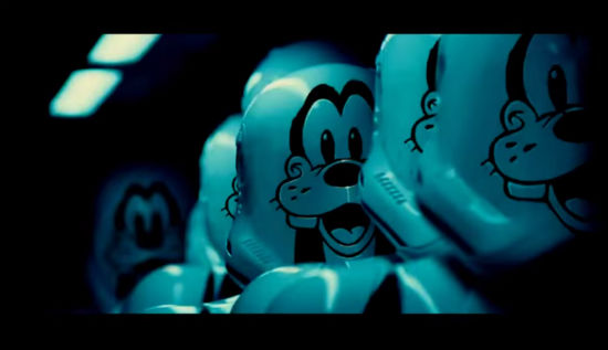 Force Awakens trailer parodies disney