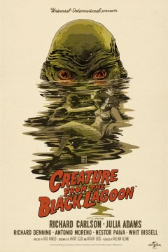 Francesco Francavilla - Creature From Black Lagoon