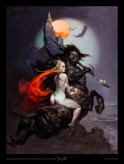 Frank Frazetta - MOON_MAID