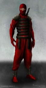 GI Joe Retaliation concept art - climbing ninja