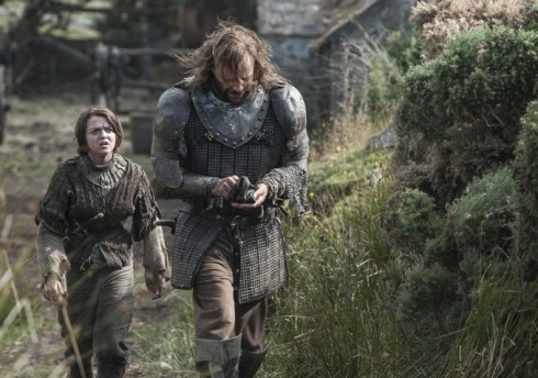 Game of Thrones Season 4 - Arya and The Hound