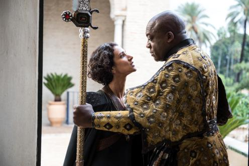 Game of Thrones Season 5 - Ellaria Sand and Areo Hotah