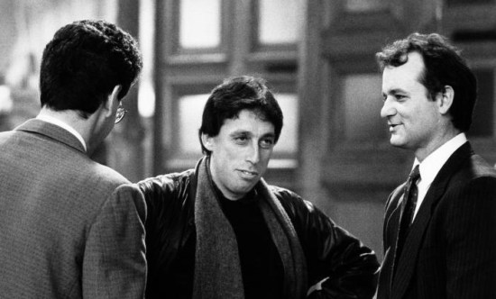 Ghostbusters 3 - Bill Murray and Ivan Reitman on set