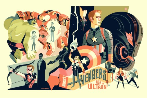 Glen Brogan - Avengers Age of Ultron