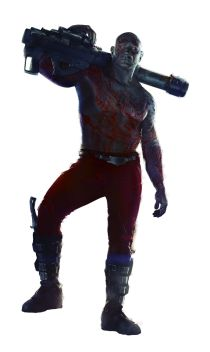 Guardians of the Galaxy photos drax
