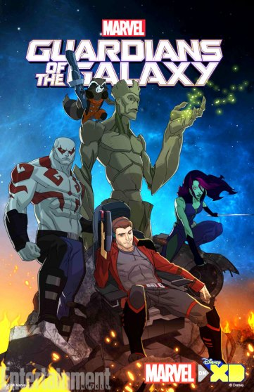 Guardians of the Galaxy animated tv series