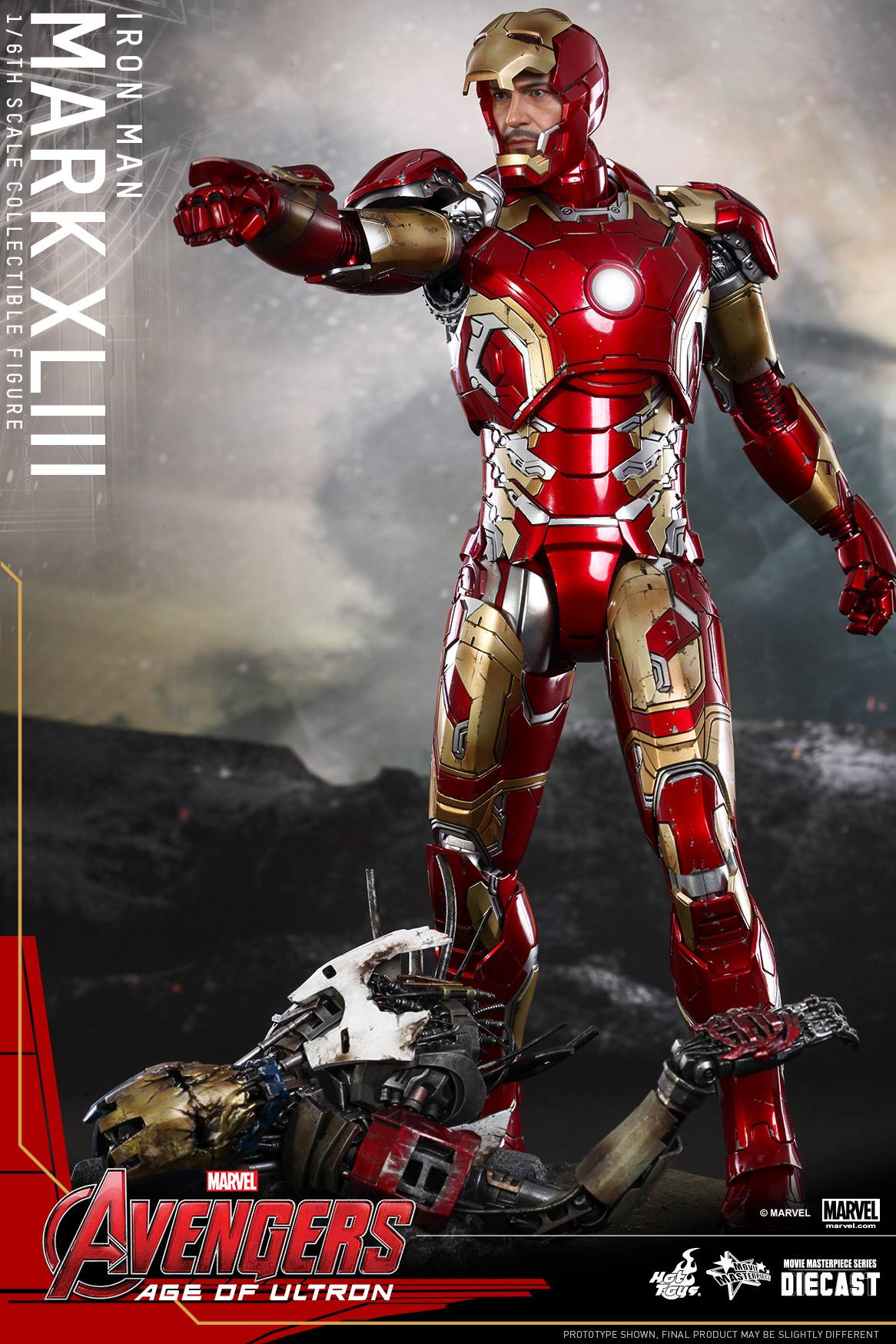 The Avengers: Hot Toys' Avengers: Age Of Ultron Iron Man Suit Revealed
