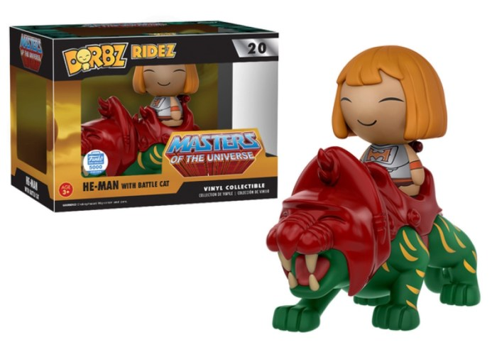 He-Man with Battle Cat Dorbz Ridez