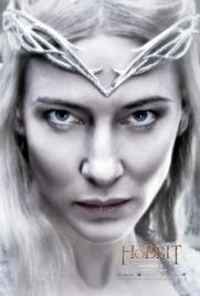 Hobbit Battle Five Armies Galadriel poster