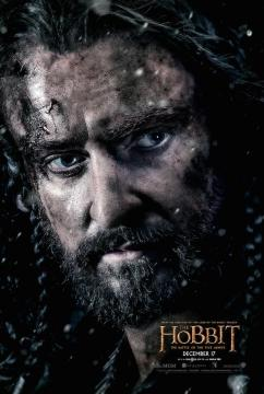 Hobbit Battle Five Armies Thorin poster