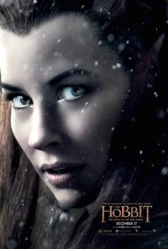 Hobbit Battle of Five Armies Tauriel poster