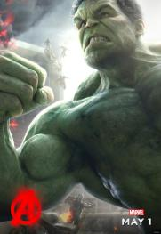 Hulk Age of Ultron character poster