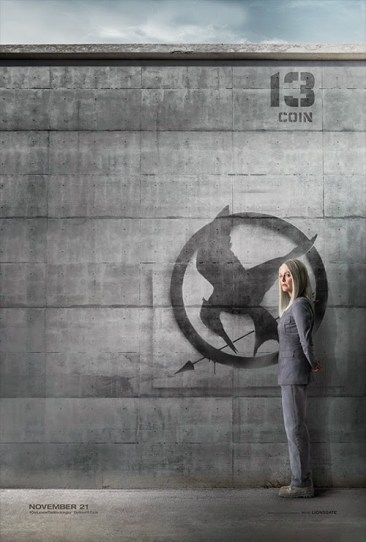 Hunger Games Mockingjay Coin Poster