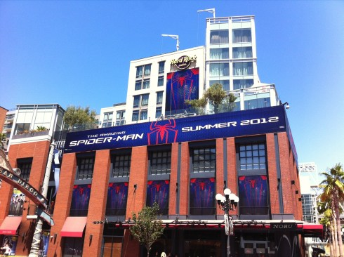 Comic-Con 2011: Spider-Man banners