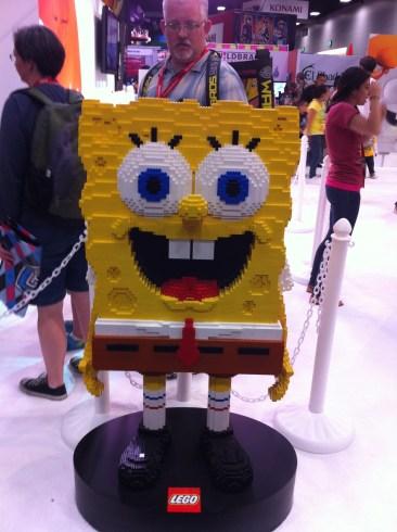 Comic-Con 2011: LEGO Spongebob