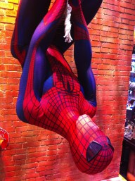 Comic-Con 2011: Spider-man display close-up