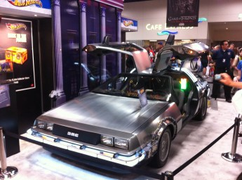 Comic-Con 2011: Back to the Future car