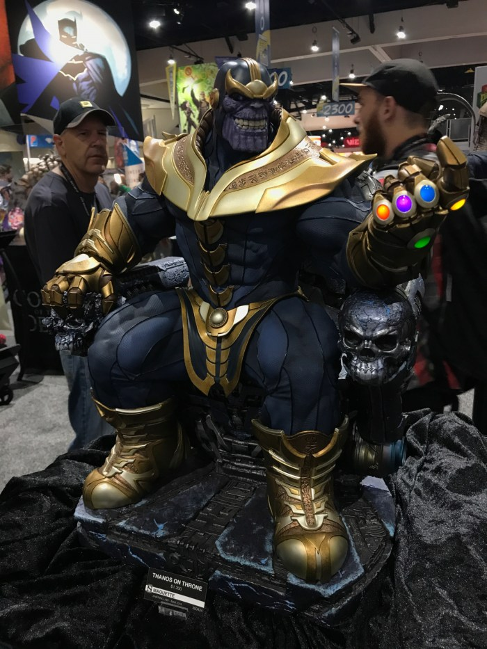Thanos on his throne from Sideshow