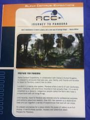 Avatar land pamphlet