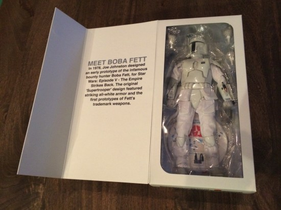 Boba Fett Prototype Armor Sixth Scale Figure box