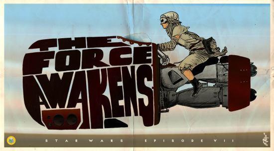 Illustrando en Chile Force Awakens