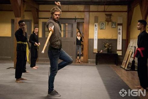 Iron Fist - Finn Jones as Danny Rand