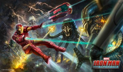Iron Man Experience Disney