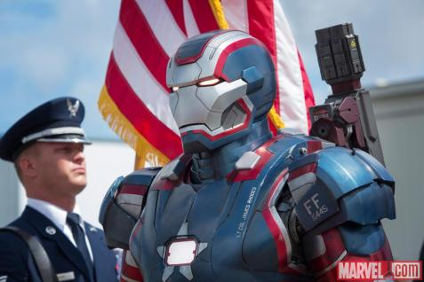 Iron Patriot Detail
