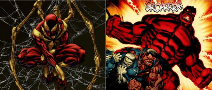Civil War Iron Spider Red Hulk