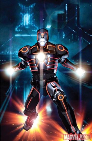 Iron Man Tron Variant