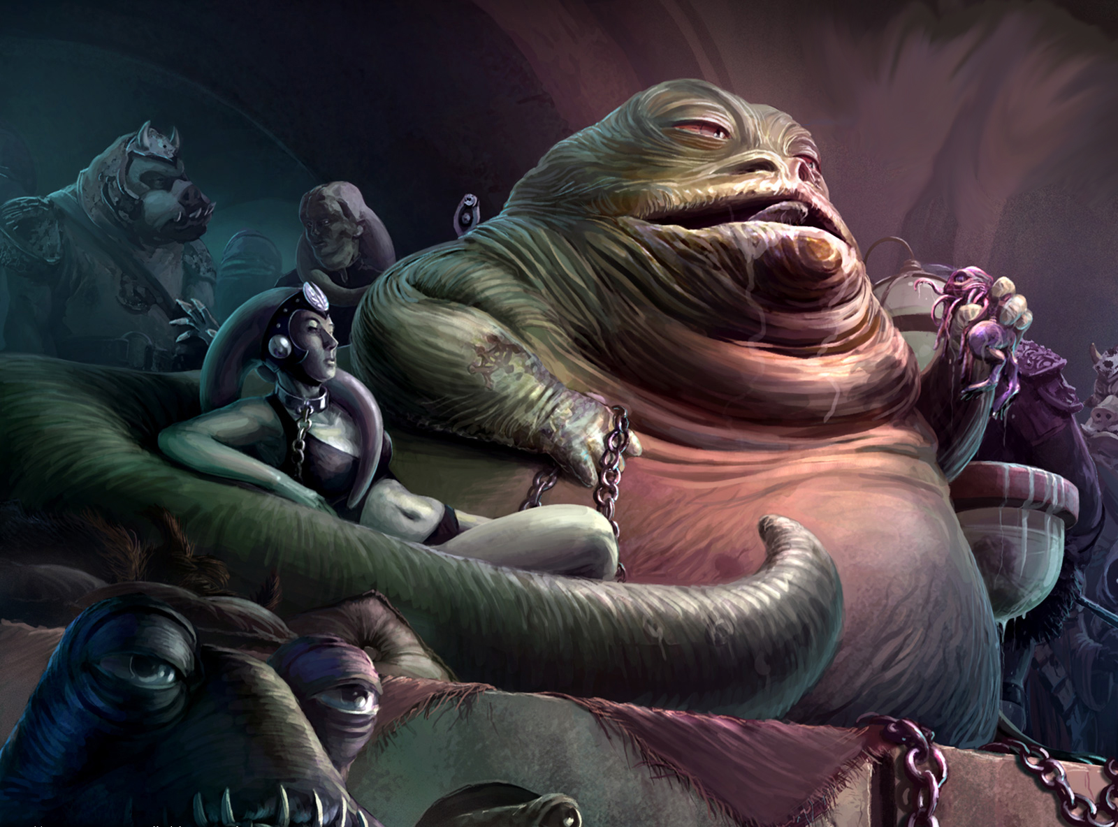 Guillermo Del Toro Star Wars Movie Idea Godfather Style Jabba The Hutt Movie