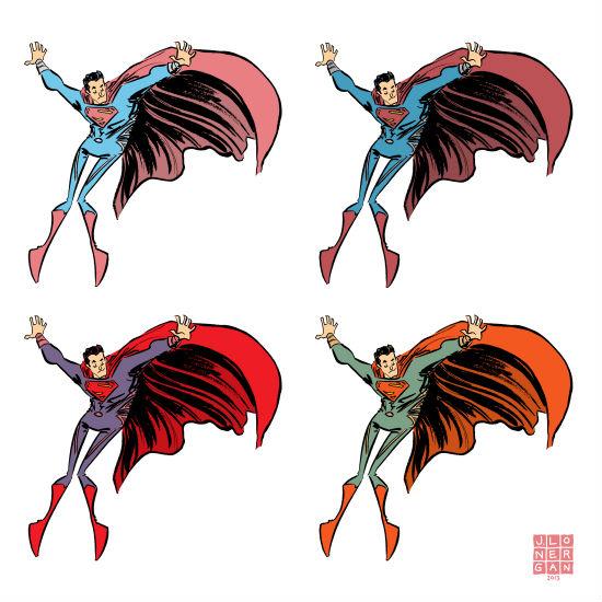 Jesse Lonergan - Dancing Superman