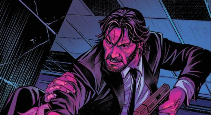 John Wick Comic Book Cover Banner