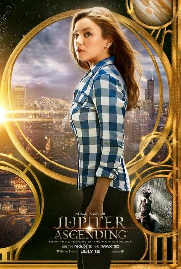 Jupiter Ascending poster Kunis